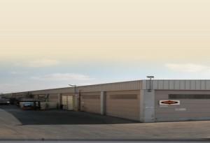חזית מפעל החלוה והטחינה בא.ת ברקן