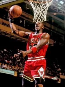 מייקל ג'ורדן ב-1997, צילום: Steve Lipofsky at basketballphoto.com