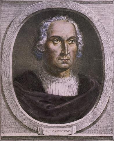 כריסטופר קולומבוס , ציור: ויקישתוף