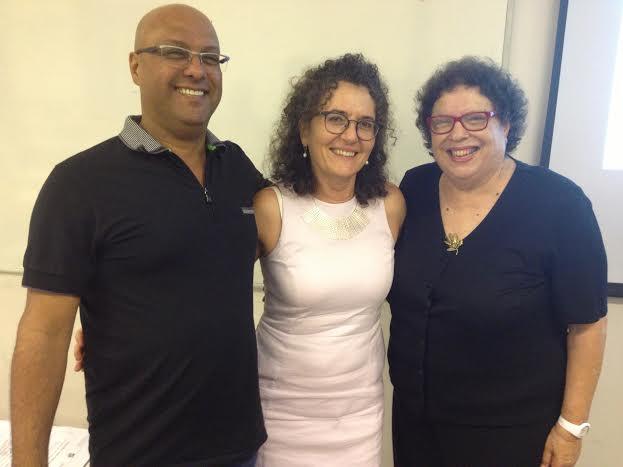 משמאל ארז דהבני, ד'ר נאוה מיכאל צברי וד'ר עדנה פשר, 100 שנה לבלדי