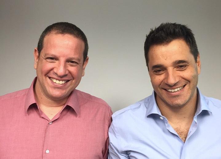 מייסדי ומנהלי Trax: יואל בר-אל (משמאל) ודרור פלדהיים