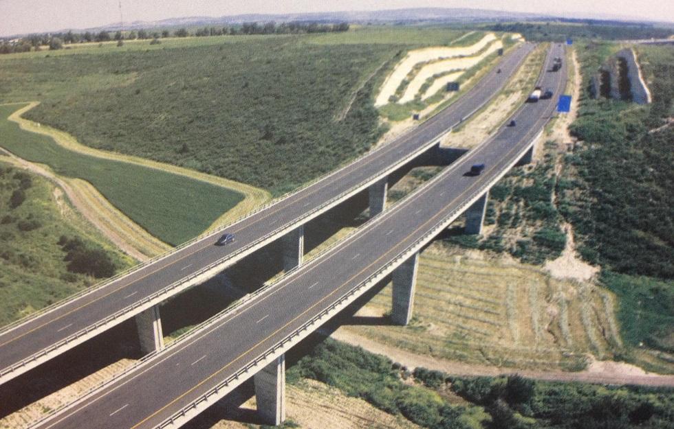"""כביש מחבר ישראל, צילום: יח""""צ"""