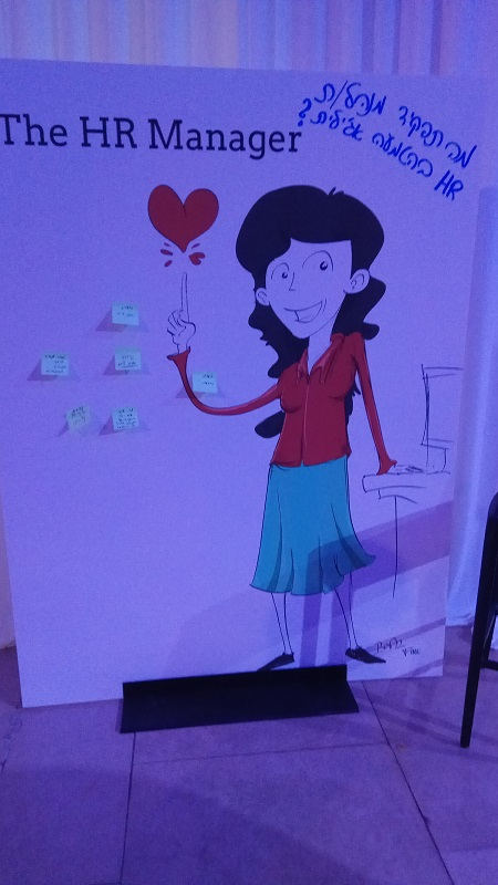 לוח תובנות: משתתפים חושבים, כותבים ומשתפים על ה- wall